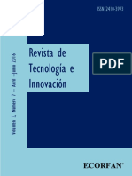 Revista de Tecnologia e Innovación V3 N7