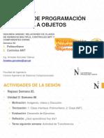 Sesión 06 - Técnicas de Programación Orientado a Objetos