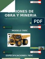 Camiones de Obra y Mineria