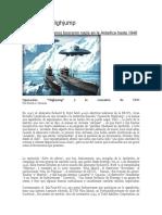 Salto Alto Una Armada en La Antartida