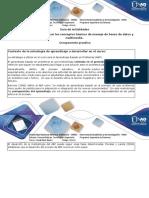 Guia de Actividades Paso 6 - Aplicar Los Conceptos Básicos de Manejo de Bases de Datos y Multimedia