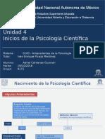 Evolucion de la Psicología Científica