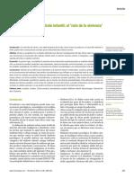 Neurobiología Del Maltrato Infantil- El 'Ciclo de La Violencia'