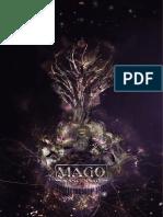 Ficha Com Design Aprimorado de Mago - A Ascensão