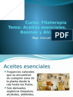 Aceites resinas alcaloides