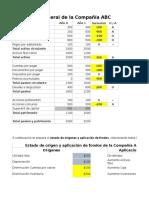 Ejemplo - Fuentes y Usos