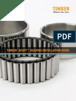 Timken ADAPT Bearing Installation Guide