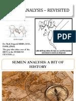 Semen Analysis - A critical overview