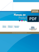 Manual de Productos 2016