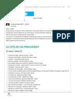 Lista - Libros de Cieg@s Discapacitad@s Y Perjudicad@s - Historica