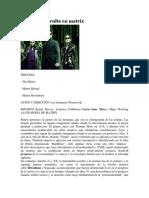 The Matrix Filosofico