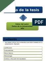 Plantilla Para Sustentación UVR Correctores de Textos