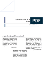 1.1. Introducción Al Marketing Farmacéutico