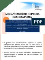 Mecanismos de Defensa Respiratoria Neumonías Atípicas