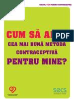 Ghidul Tau Pentru Contraceptie