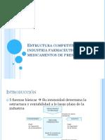1.1.1. Estructura Competitiva de La Industria Farmacéutica