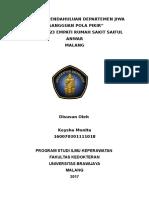 Laporan Pendahuluan Departemen Jiwa