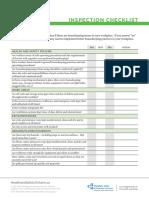 Housekeeping Inspection Checklist v1