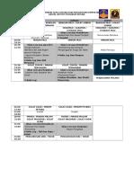 Jadual Perkhemahan Asas Lencana Dan Pengurusan Kumpulan 2017