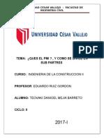 Ingenieria de La Construccion II Que Es El Pmi y Pmp