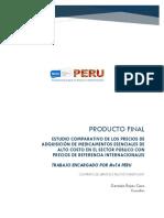 Estudio Comparativo de Los Precios de Adquisición Informe Final 1