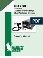 CD700 Welder Manual