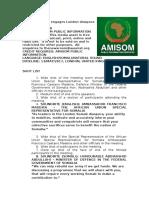 AMISOM engages London diaspora community