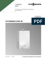 Instructiuni utilizare Vitodens 050