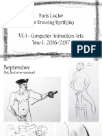 Life Drawing Portfolio