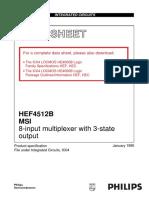 HEF4512B