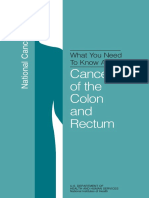 What You Need to Know About Colorectal Nci