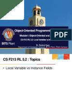 CS F213 RL 5.2