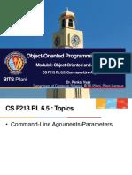 CS F213 RL 6.5