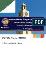 CS F213 RL 7.2