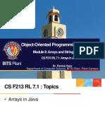 CS F213 RL 7.1