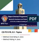CS F213 RL 9.3