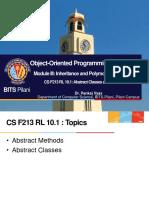 CS F213 RL 10.1