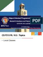 CS F213 RL 10.5
