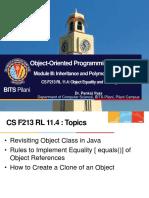 CS F213 RL 11.4