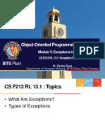 CS F213 RL 13.1