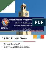 CS F213 RL 14.5