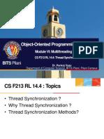 CS F213 RL 14.4