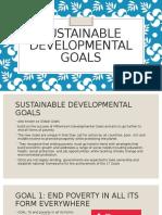 SDG (sustainable developmental goals)