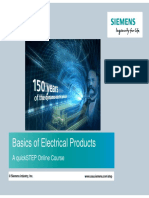 Basics of Electrical Products