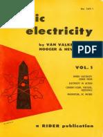 Basic Electricity Vol 1 to Vol 5 Van Valkenburgh_text