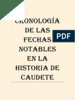 Cronología de la Historia de Caudete