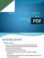 KONSEP SEHAT - SAKIT
