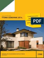 140228 YTONG Cenovnik 2014 Srbija