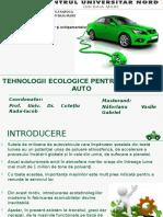 Tehnologii Ecologice Pentru Industria Auto