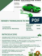 Inovatii Tehnologice in Industria Auto